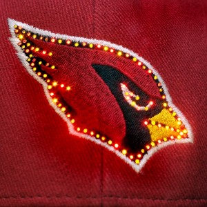 Arizona Cardinals Fiber Optic Hat